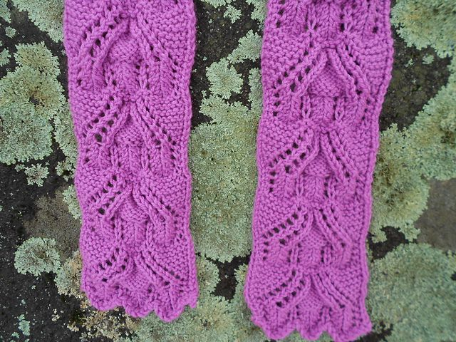 Ravelry: Country Cottage Lace Scarf pattern by Melody Hadley