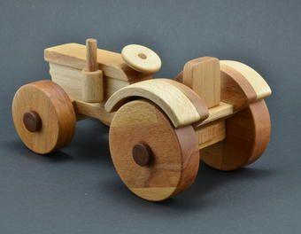 holztraktor holzbearbeitung holzspielzeug traktor kinderspielzeug biegen holztraktor kotfl gel. Black Bedroom Furniture Sets. Home Design Ideas