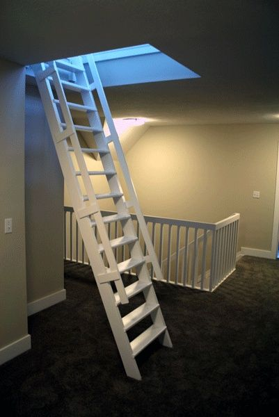 Image Result For Retractable Stairs For Boat Hatch Ship Ladder Attic Rooms Attic House