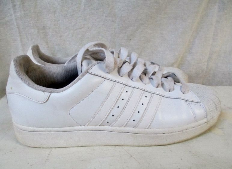 EUC Mens ADIDAS Mesh Sneaker Trainer Athletic Shoe Leather 789002 . 64f34d8ad