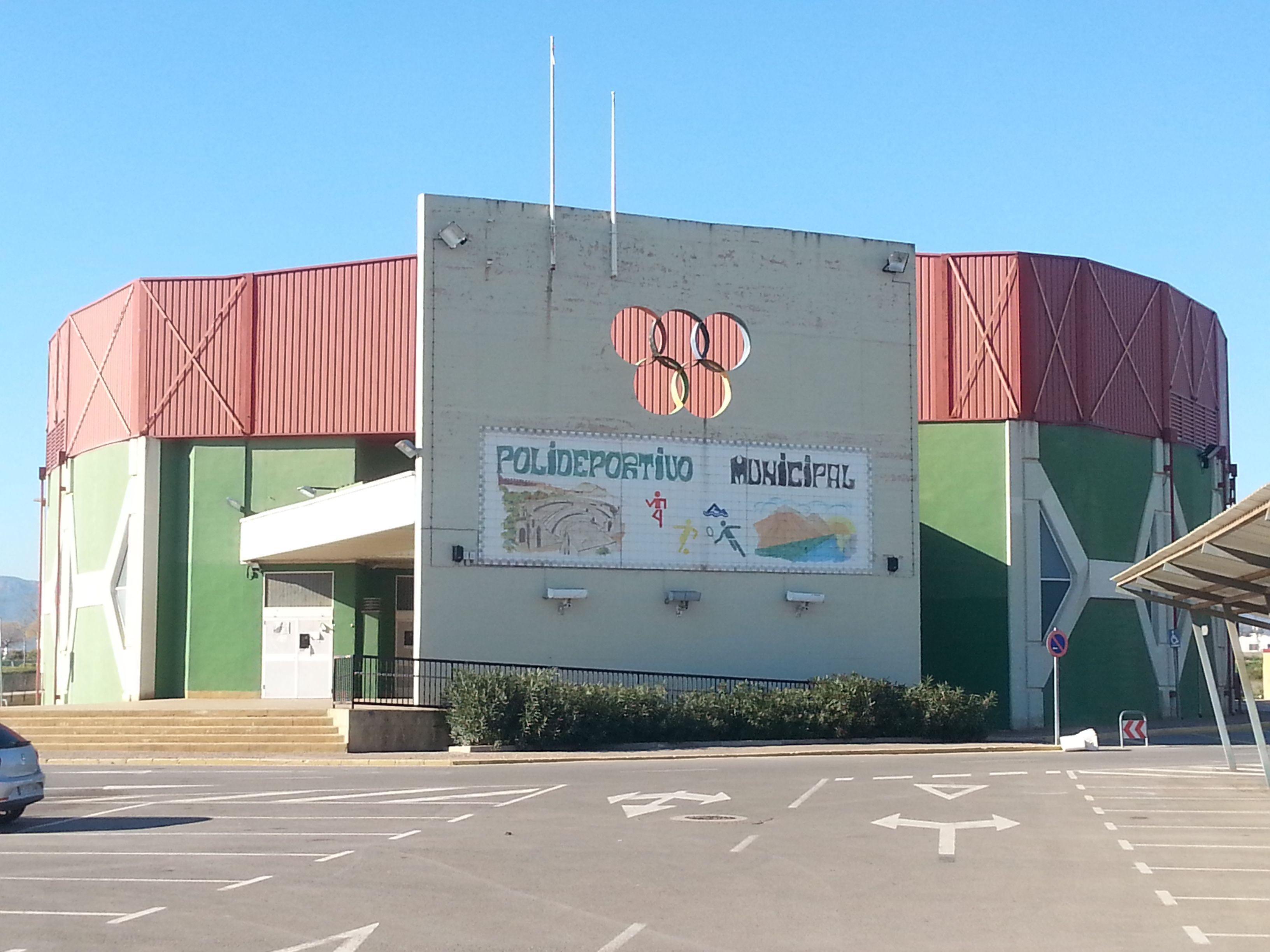 Polideportivo municipal internucleos ovni pabell n del b for Polideportivo ciudad jardin