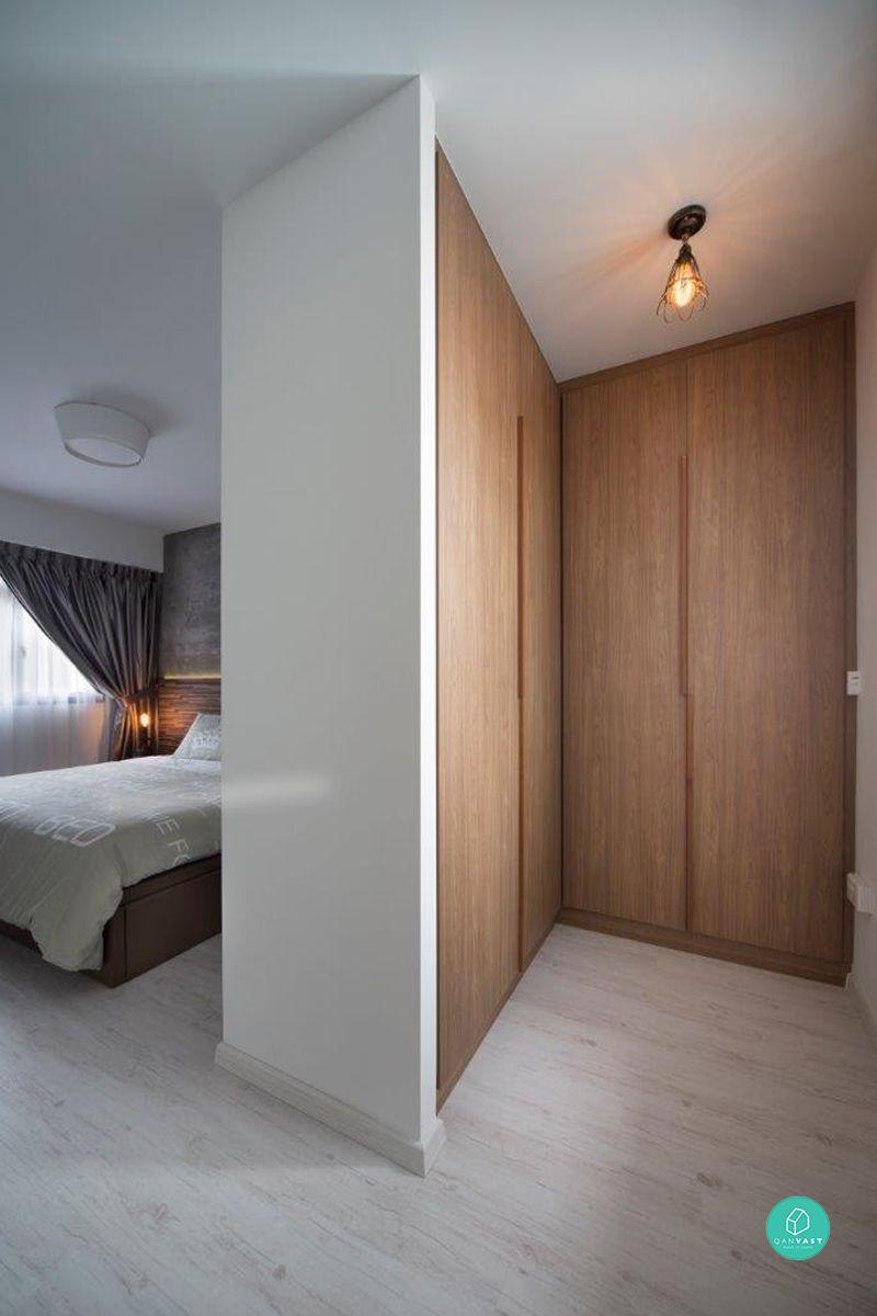 Master bedroom hdb   Ways to Maximise Your Master Bedroom Floor Area  Home  Pinterest