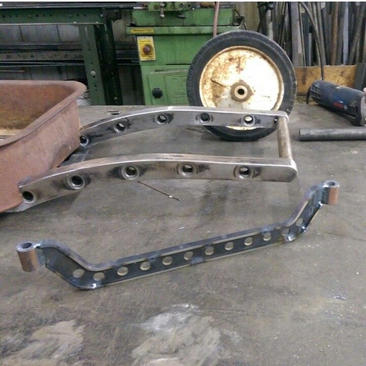 Working hot rod wagon frame & front axle | Hot Rod Wagons- a.k.a. ...