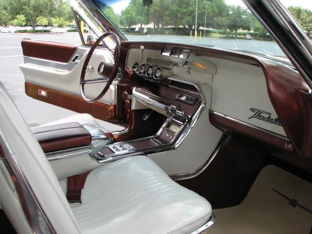 1965 Thunderbird Convertible In Emberglo With White Interior This