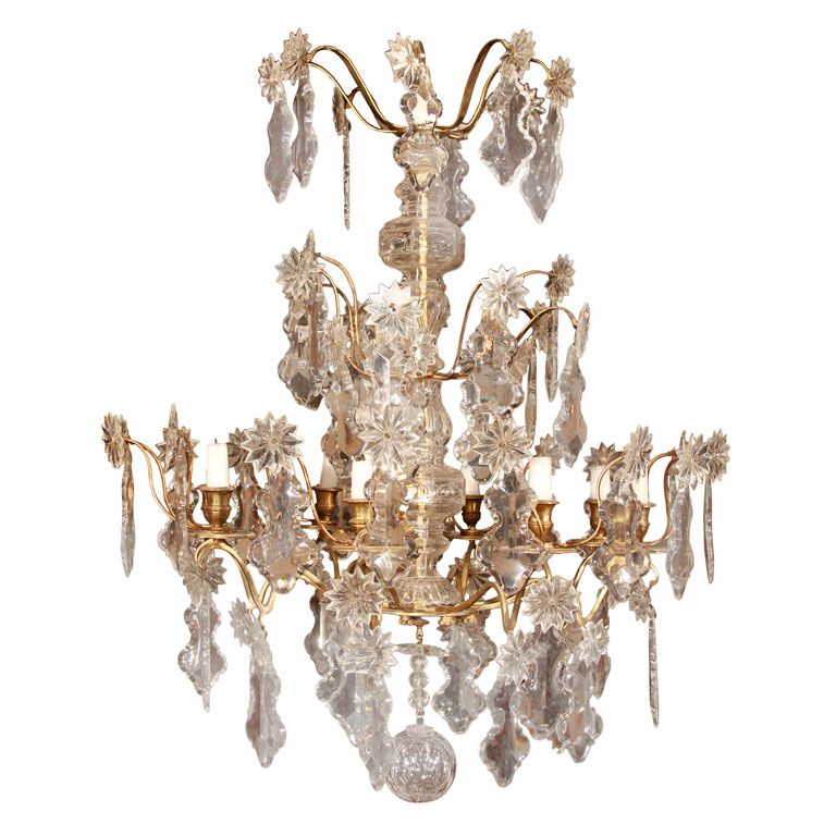 French 18th Century Chandelier From A Unique Collection Of Antique And Modern Chandeliers Pendants At