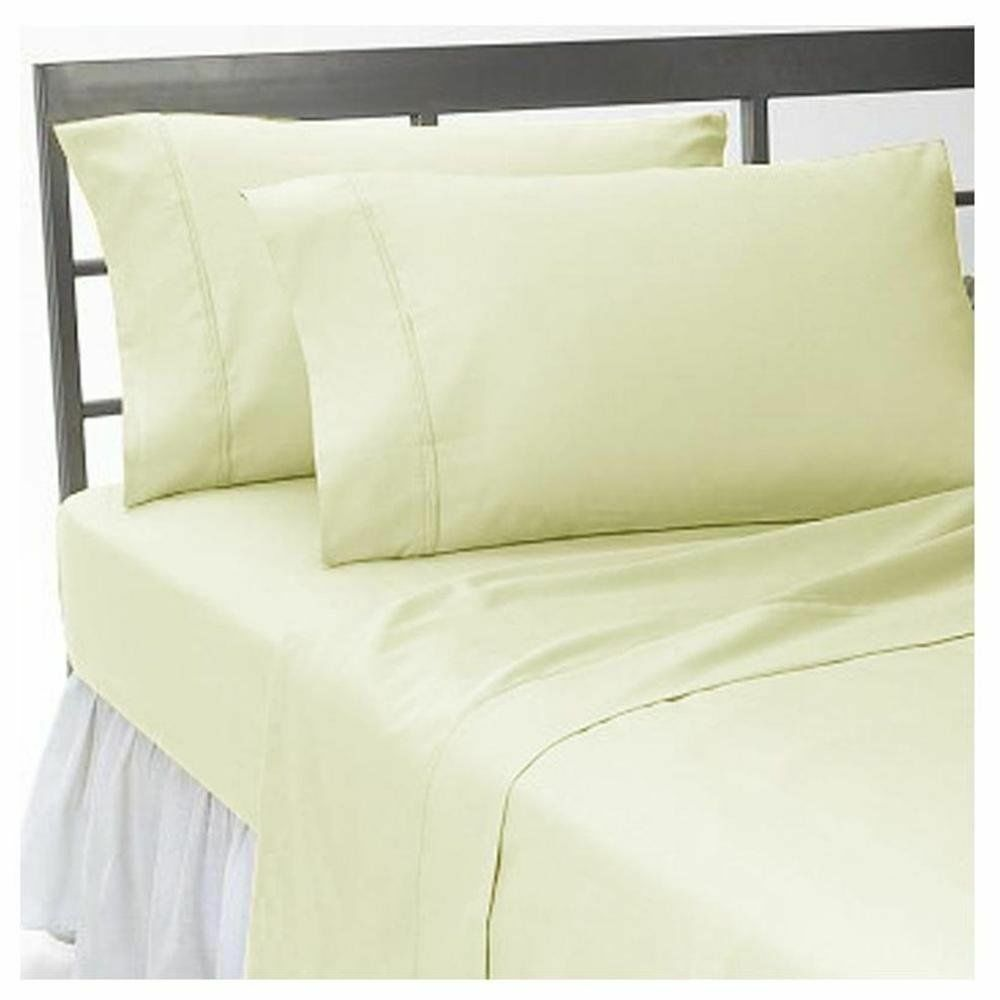 1000 Count Egyptian Cotton Sage Solid Extra Deep Pocket Bedding Item