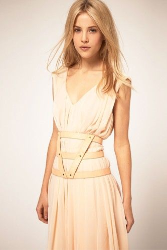 ASOS 3 Strap Pastel Harness Belt $32.23, available at ASOS.  #refinery29 http://www.refinery29.com/fashion-harness#slide-7