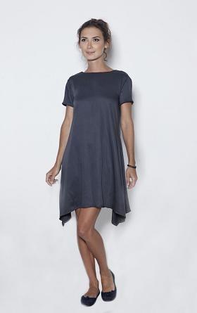 LeMuse Deep Blue Bell Dress
