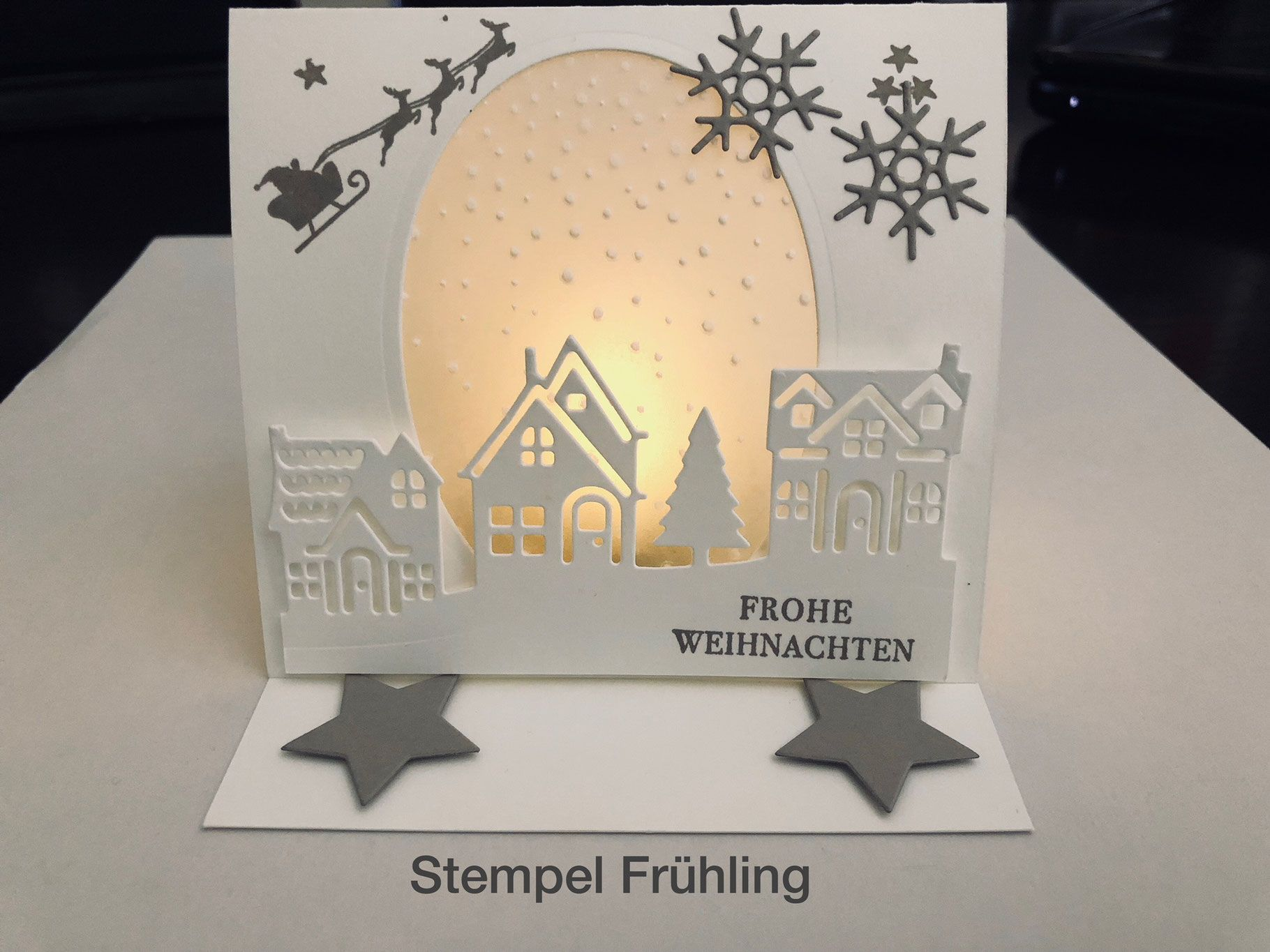 Stempelpalast & Friends BlogHop Christmas in October