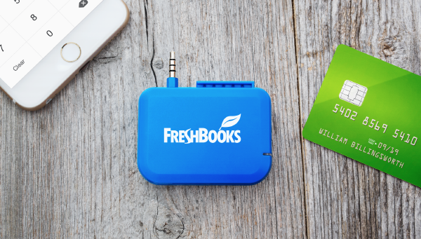 Freshbooks Card Reader Is On Its Way Small Business Trends Freshbooks Small Business Trends Credit Card Readers