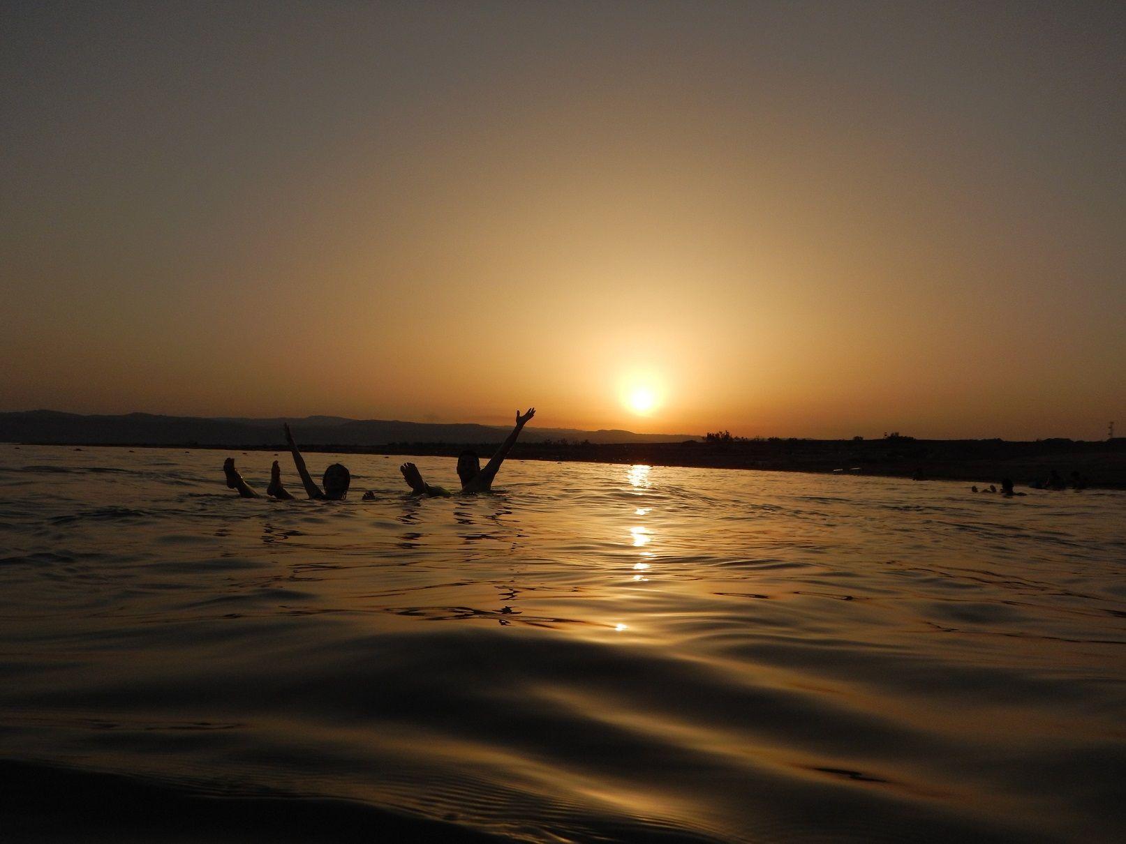 DEAD SEA  sunset [Jordan Trip]
