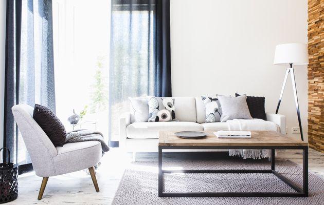 Kankaan käyttötarkoitus sanelee raamit huonekalukankaan valinnassa. Eurokankaan Riitta Fagerlund kertoo, miten valitset hyvän kankaan eri kalusteille.