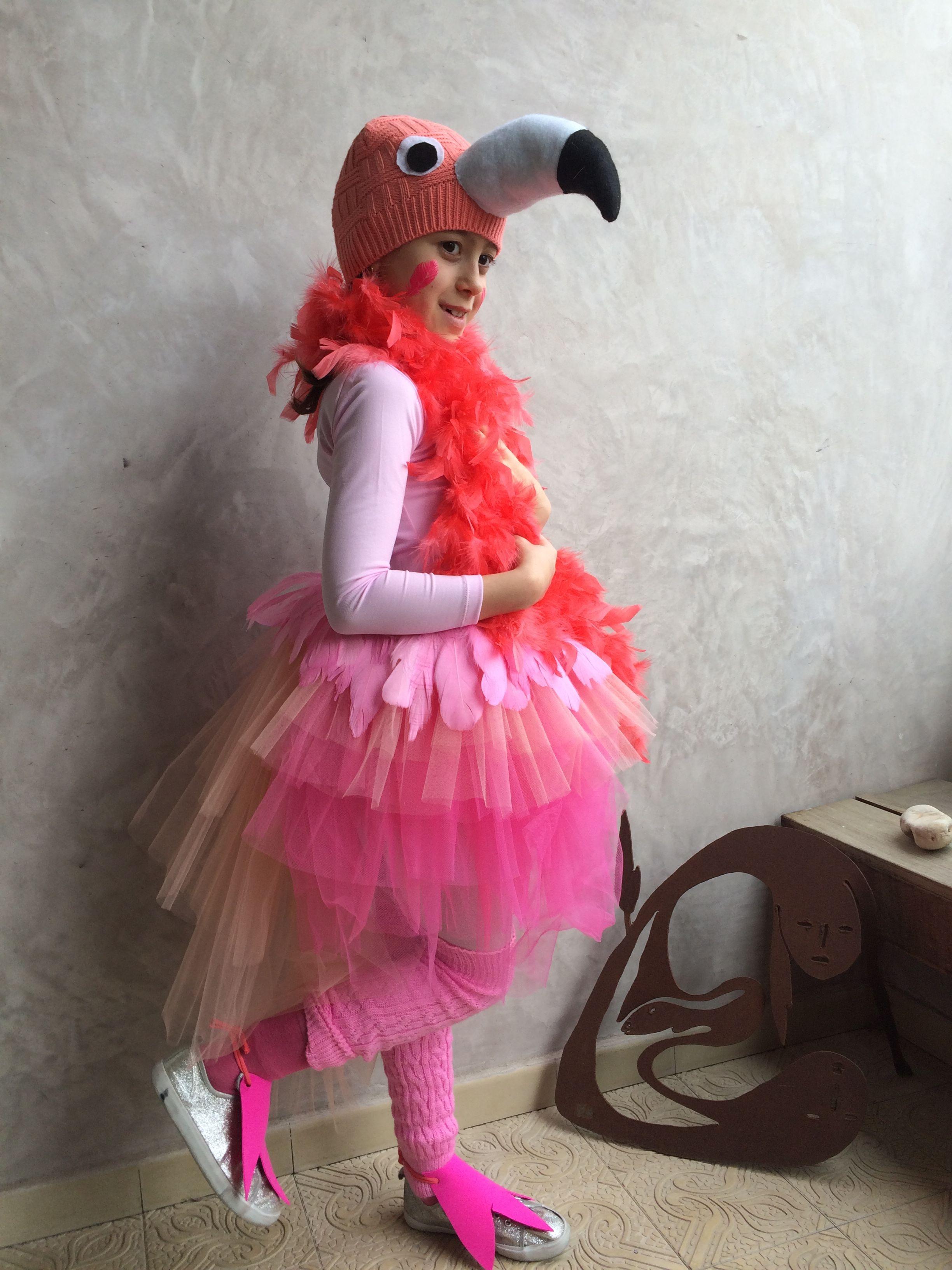 Diy Yard Flamingo Costume