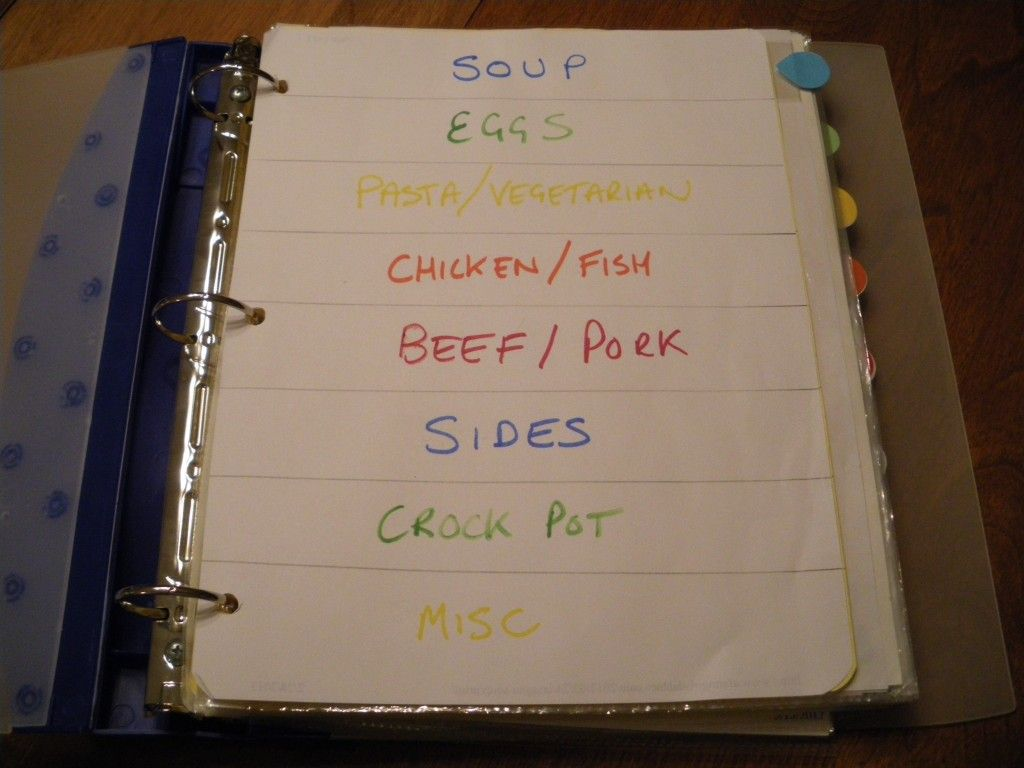 Meal plan to save time and money