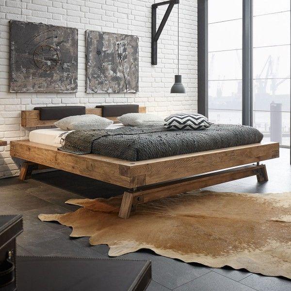 Dieses tolle Bett aus Echtholz bringt in jedes Schlafzimmer - schlafzimmer set 180x200