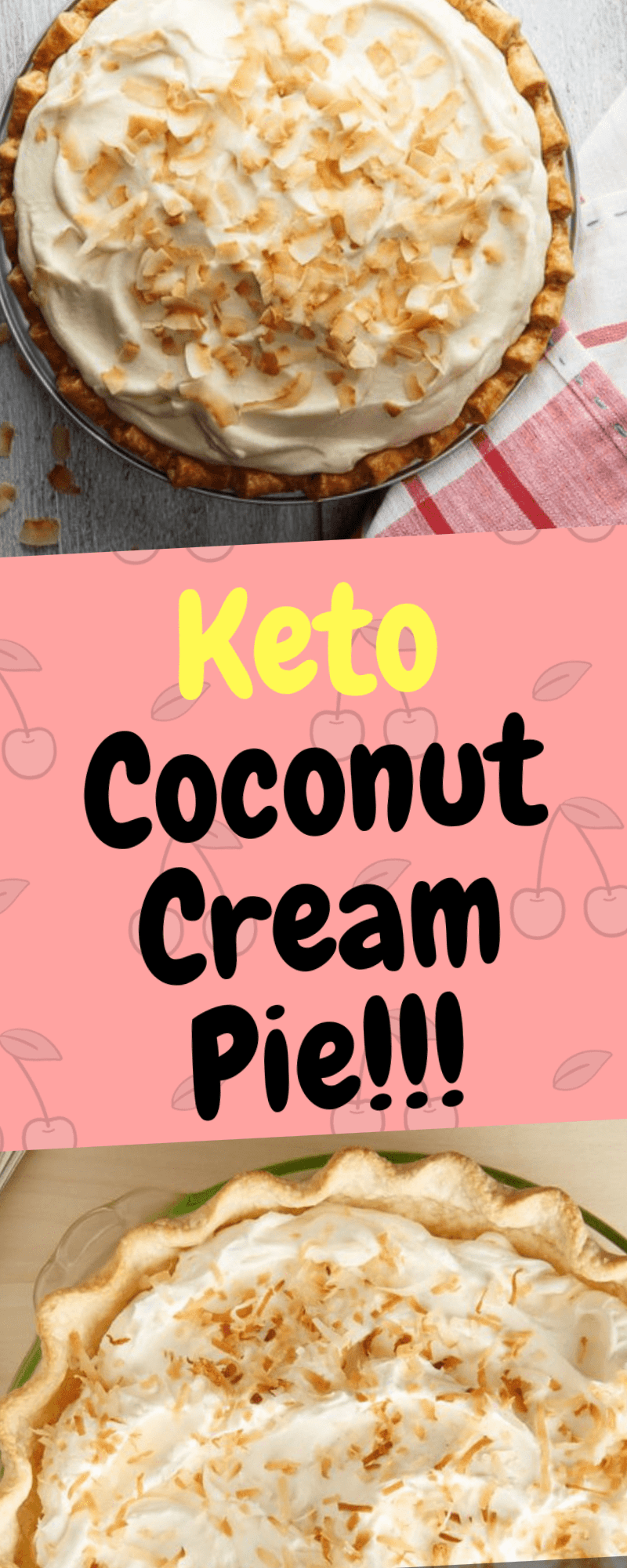 The highly anticipated and most awaited recipe is finally here! Matt created the ultimate keto dessert with this Low Carb Coconut Cream Pie. If you plan on making it make sure you share it with others or you will end up eating the entire pie in one night – it's that dangerous! There are a lot … #ketodesserts