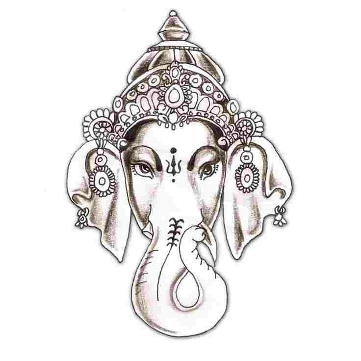 Tattoo Designs Ganapati: Lord Ganesha Tattoo Idea