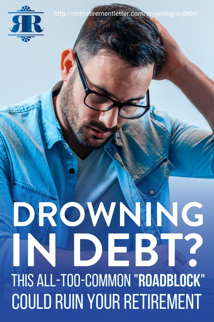 "Drowning in Debt? This ""Roadblock"" Could"