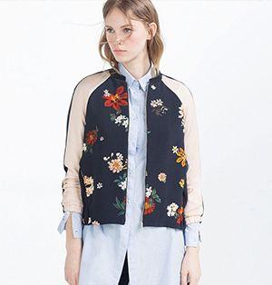 Bomberjack met borduursels modetrend 2017