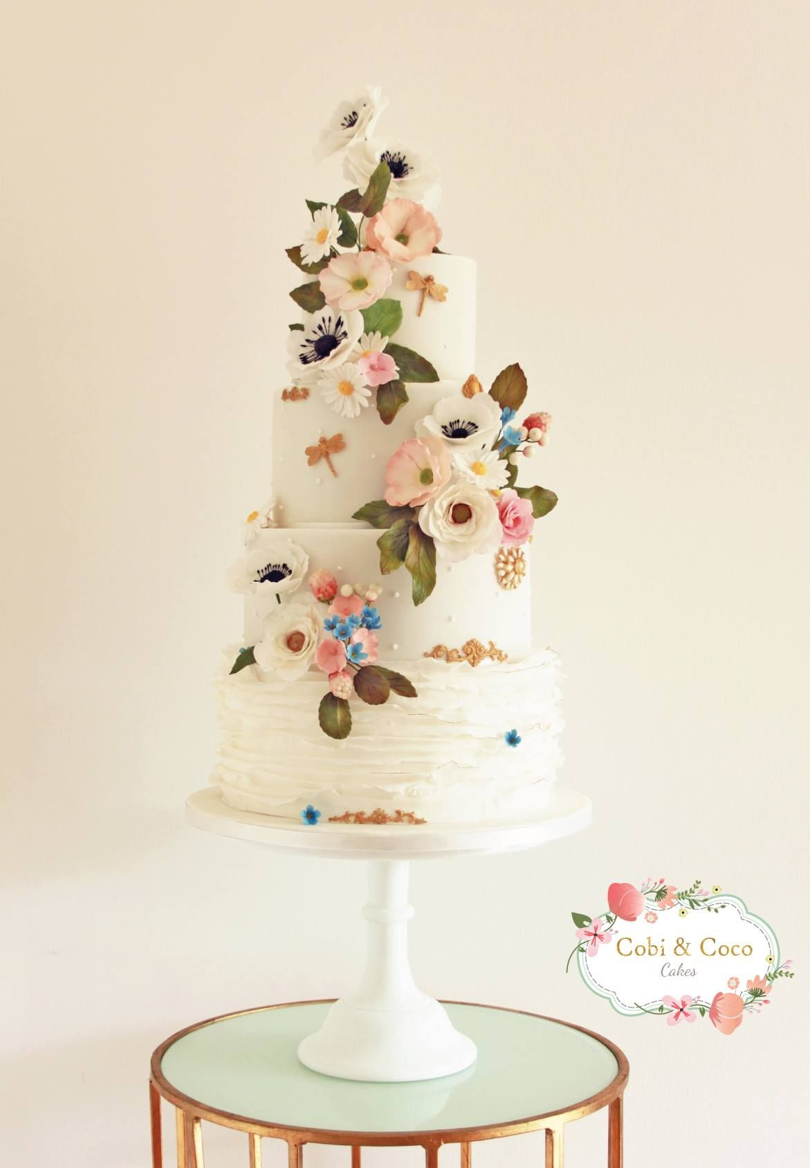 Cobi Coco Cakes Wedding Cake Strain Chocolate Wedding Cake Beautiful Wedding Cakes