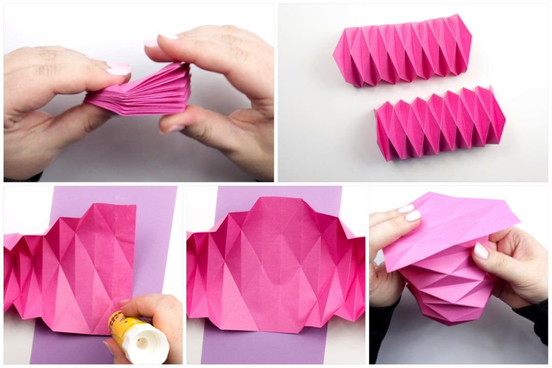 Photo of Origami Accordion Cover Photo Tutorial – Paper Kawaii