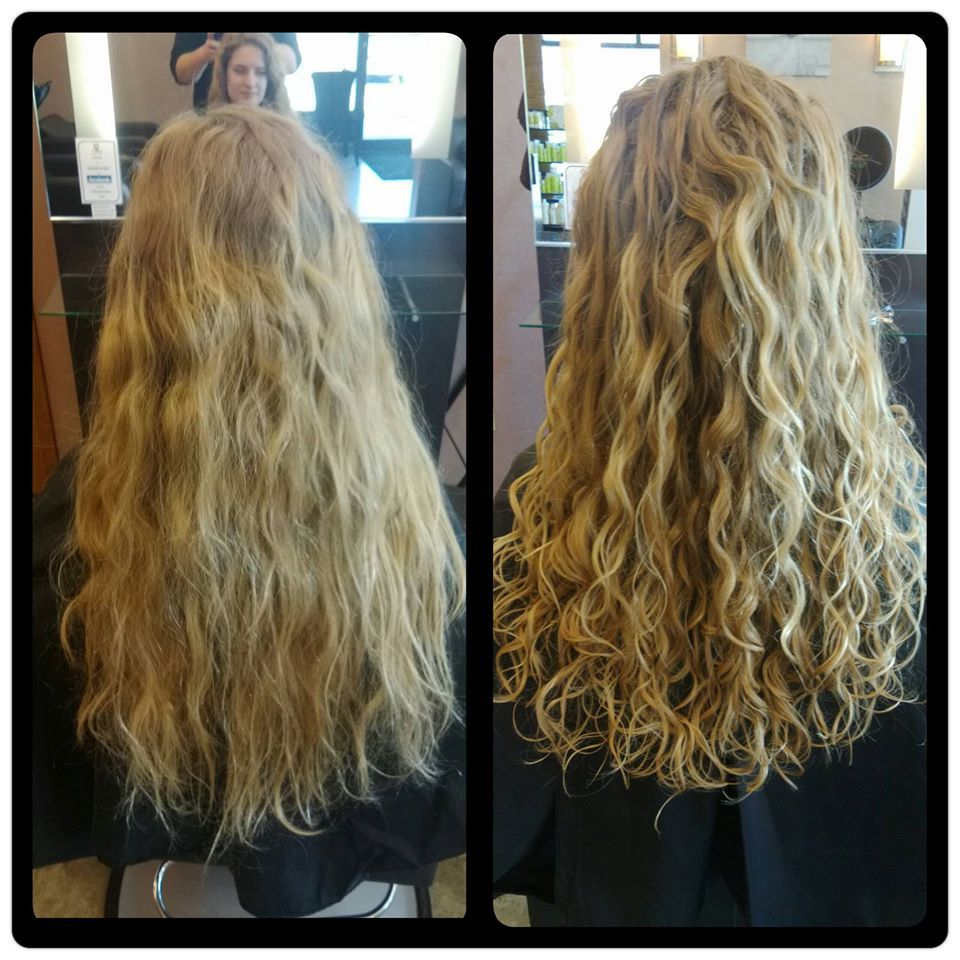 Devacurl Curly Hairstyle Before And After By Nate Mael