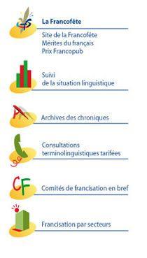 Office qu b cois de la langue fran aise page d 39 accueil fle blogs et sites pinterest la - Office de la langue francaise ...