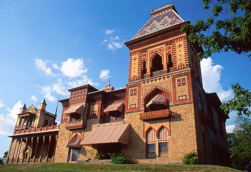 Olana The Musings Of A Preservationist American Houses