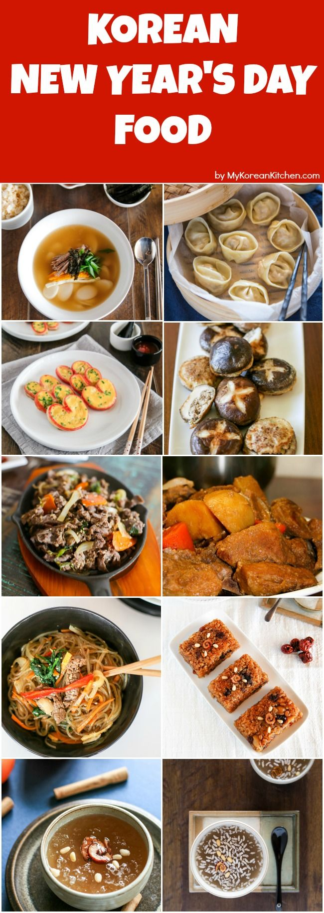 Let S Celebrate What To Cook And Eat On Korean New Year S Day Korean New Year S Day Food Round Up 10 Korean New Year Fo Food New Years Day Meal Korean Food