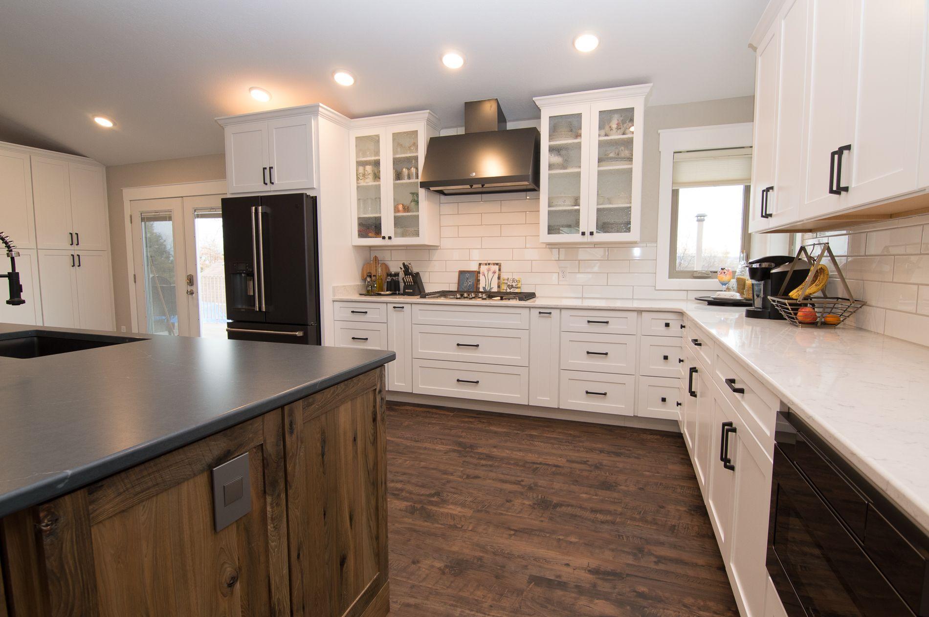 White Maple Kitchen Shakercabinets Whitekitchen Beyondthebox Billings Montana Cool Kitchens Design Kitchen And Bath