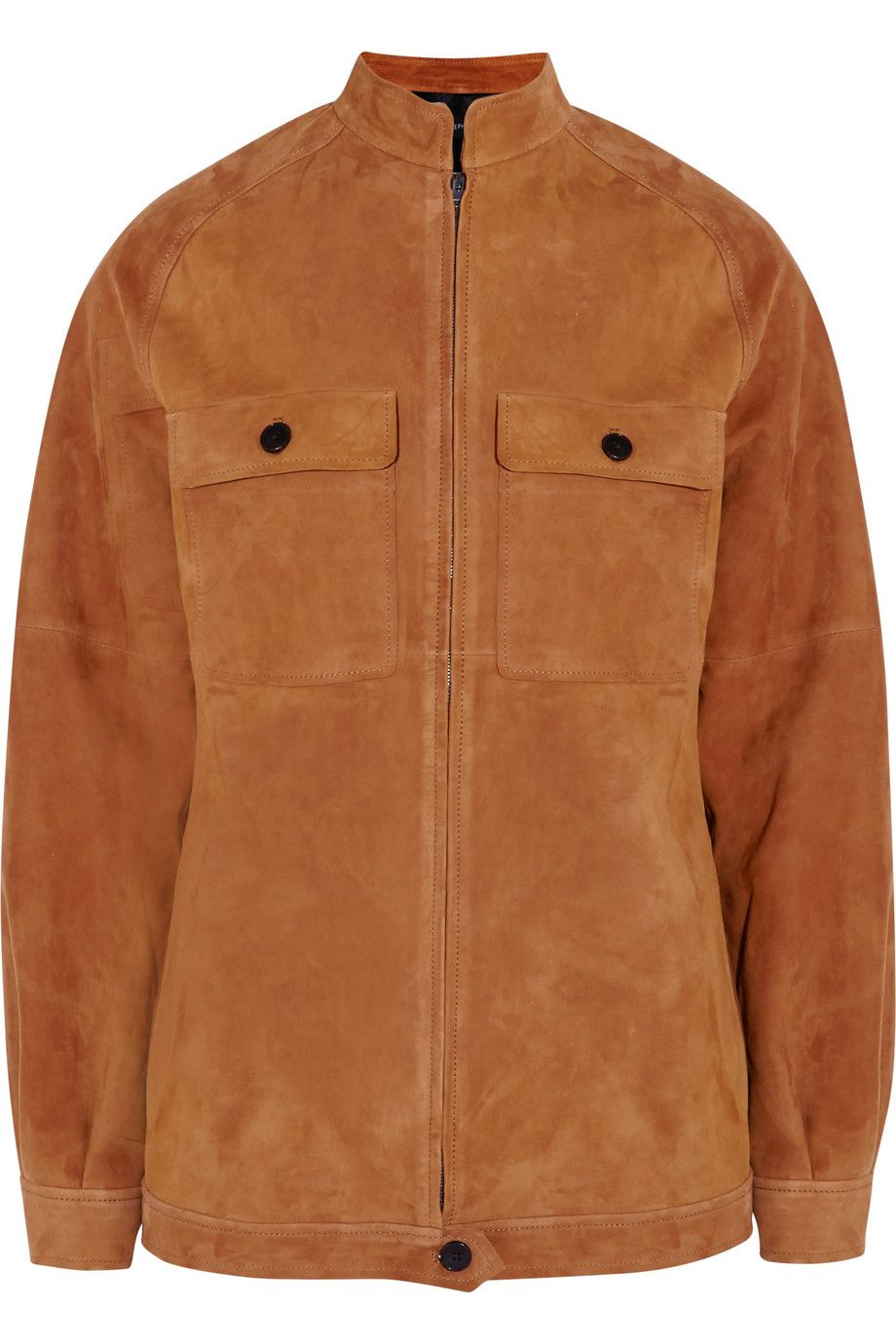 12 Brown Suede Jackets You Need forFall