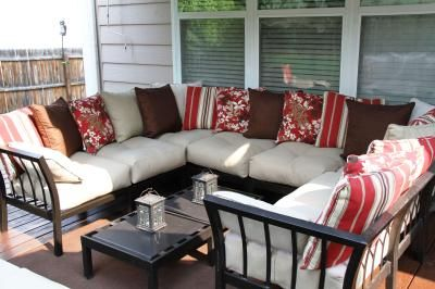 Get The Ragan Meadow 7 Piece Outdoor Sectional Sofa Set At