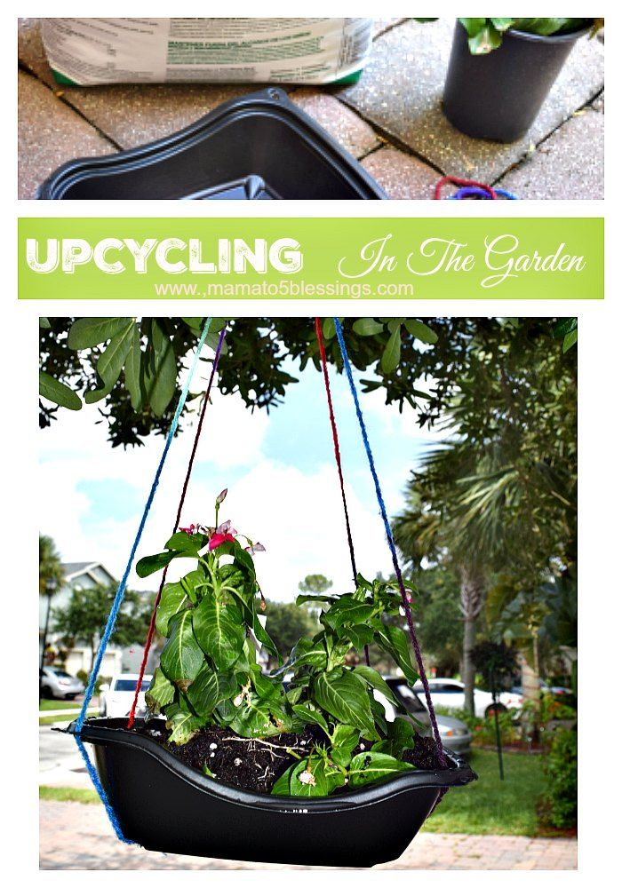 UpCycling In The Garden With Chick-Fil-A Salad Containers #chickfilamomsDIY - See more at: http://mamato5blessings.com/2016/06/upcycling-garden-chick-fil-salad-containers/#sthash.35q0aaMk.dpuf