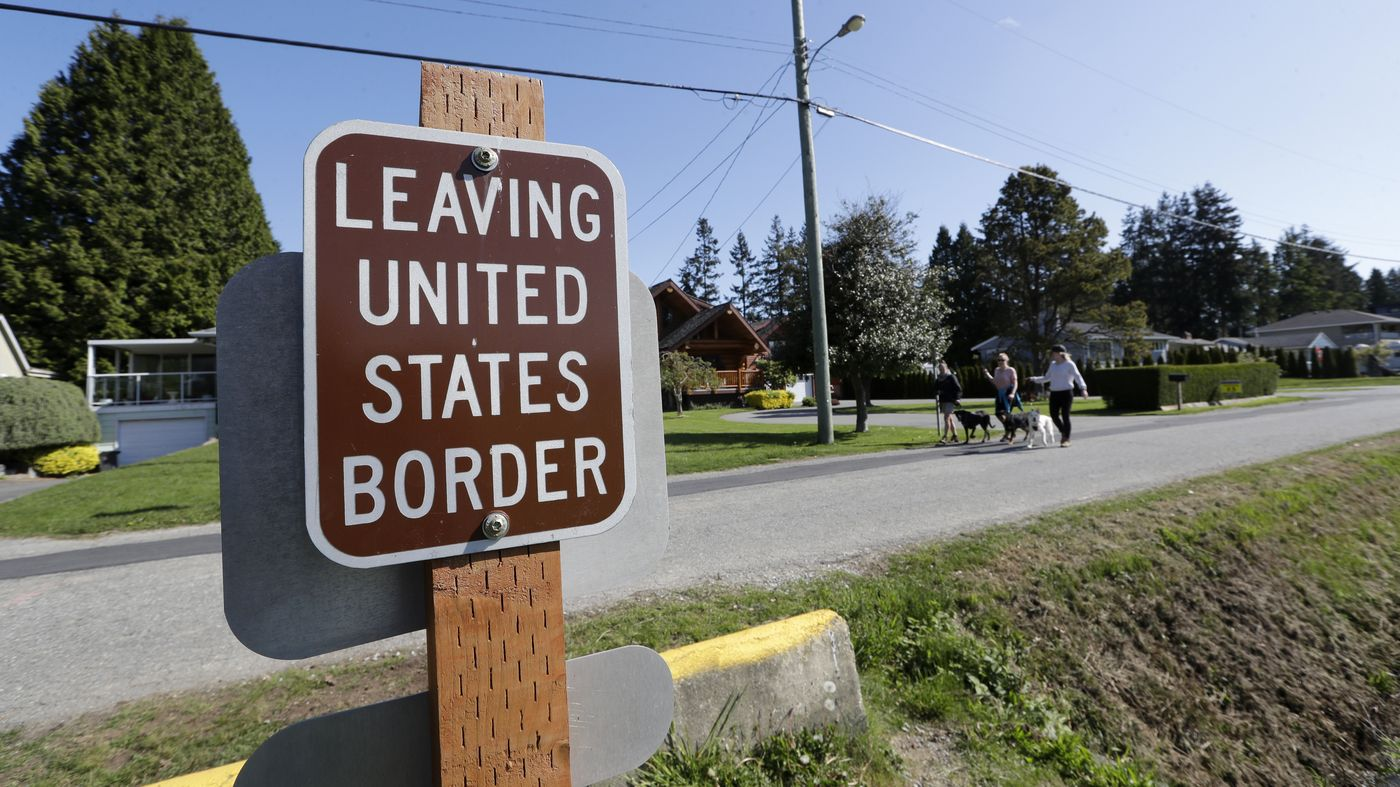 Npr News U S Canada Agree To Keep Border Partly Closed For Another 30 Days In 2020 Border Canada New York Times News