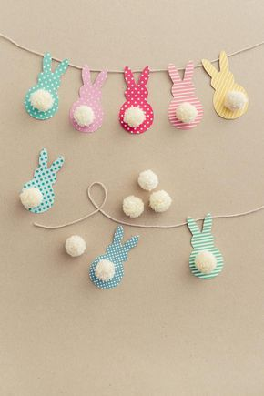 Photo of Easter Garland with Bunnies in a Few Easy Steps! – DIY Candy