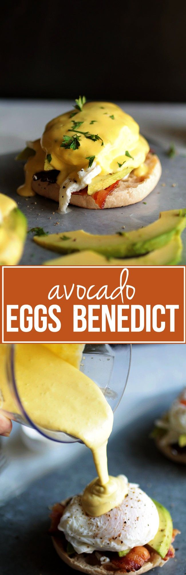 Benedict Avocado Eggs Benedict - Shake up your breakfast routine with this deceptively easy eggs be