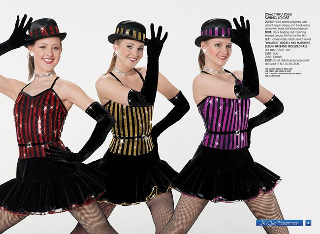 art stone costumes swing loose for jazz black costumes