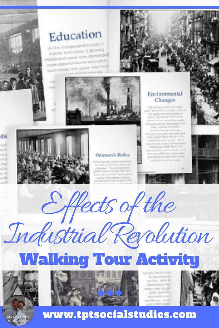 Effects Of The Industrial Revolution Walking Tour Or Gallery Walk