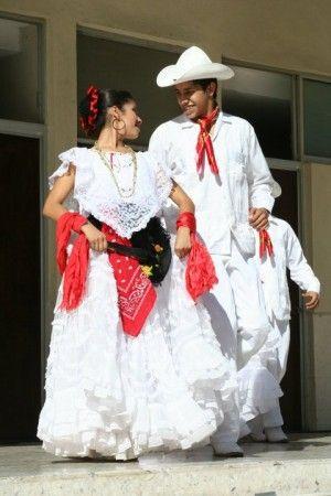 5 de Mayo Mexican girls Folkloric Veracruz Jarocho Dress,4 Pcs Costume
