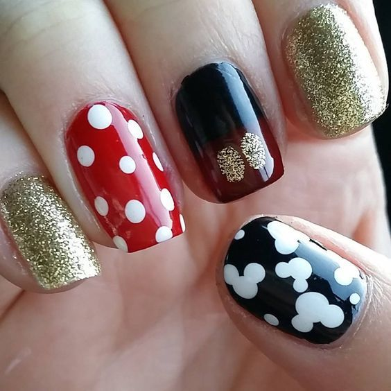 28 Disney Nail Art Designs For Happy Hands - These Disney Nail Art Ideas Will Inspire Your Next Magical