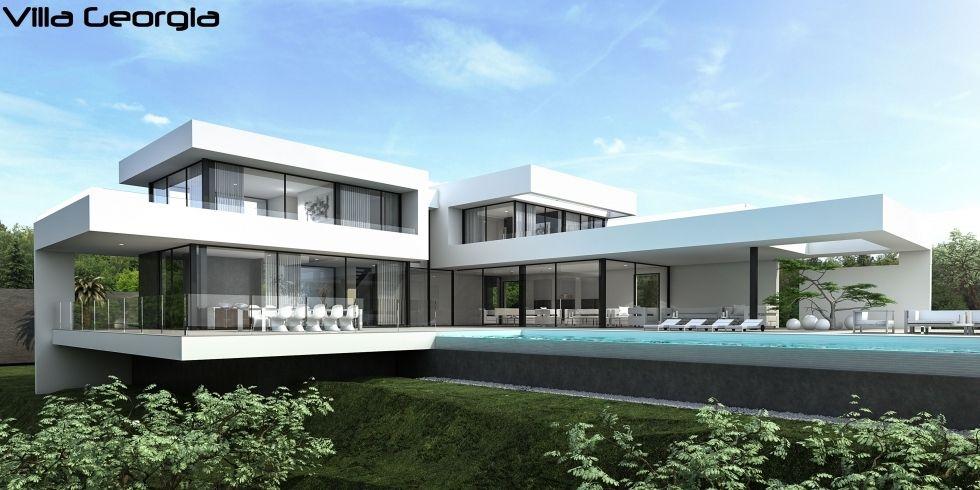 Be Spoiled design villa, Be Spoiled Plan maison moderne - Idee Facade Maison Moderne