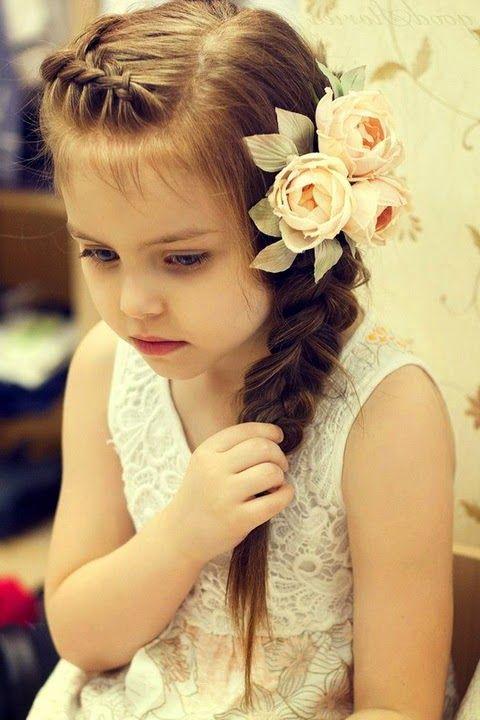 Детские прически для девочек 2015 - 85 фото, видео | Lady in Network