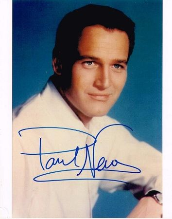 Paul Newman Authentic Signed 8x10 Photo