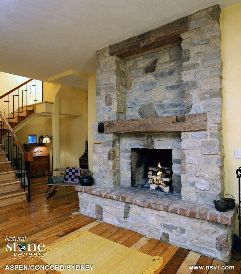 3 stone blend aspen concord sydney stone fireplaces stone rh pinterest com