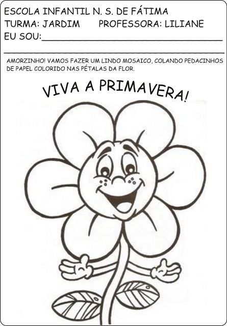 Top Atividades primavera e plantas | educação infantil ideias  PM23