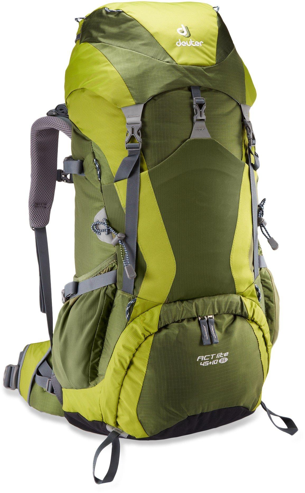 Deuter Act Lite 45 10 Sl Pack Women S Rei Co Op Hiking Backpack Camping Equipment Rental Backpack Brands