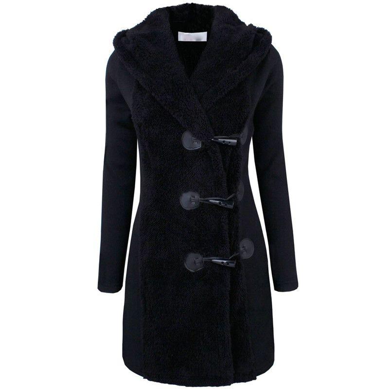 54ffcfcf207 Fashion Women s Warm Winter Parka Trench Hooded Long Section Jacket Outwear  Coat