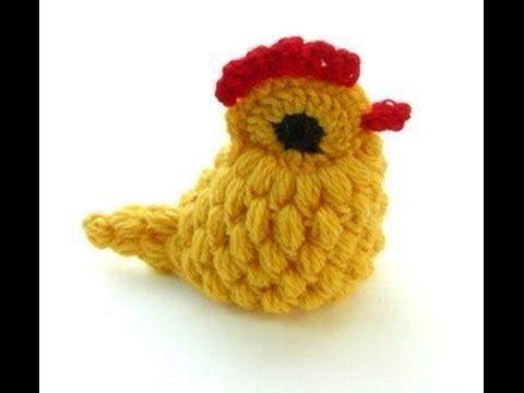 CROCHET ALONG - Yellow Crocheted Chick (HD) - Hackovana Slepicka - YouTube