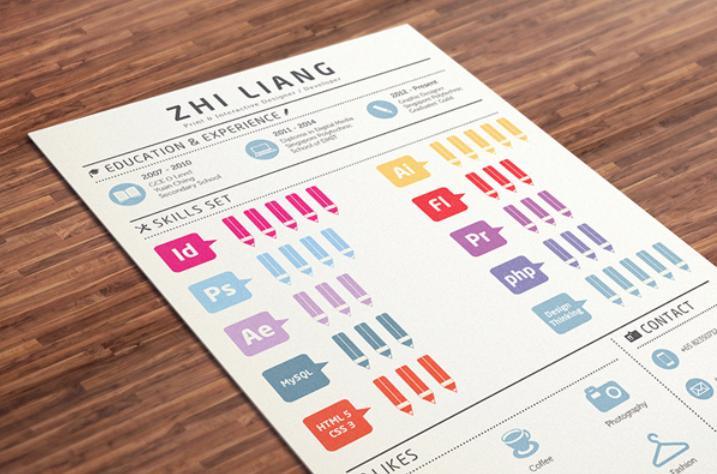 34 Awesome Resume & CV Designs Jobs Job Applications