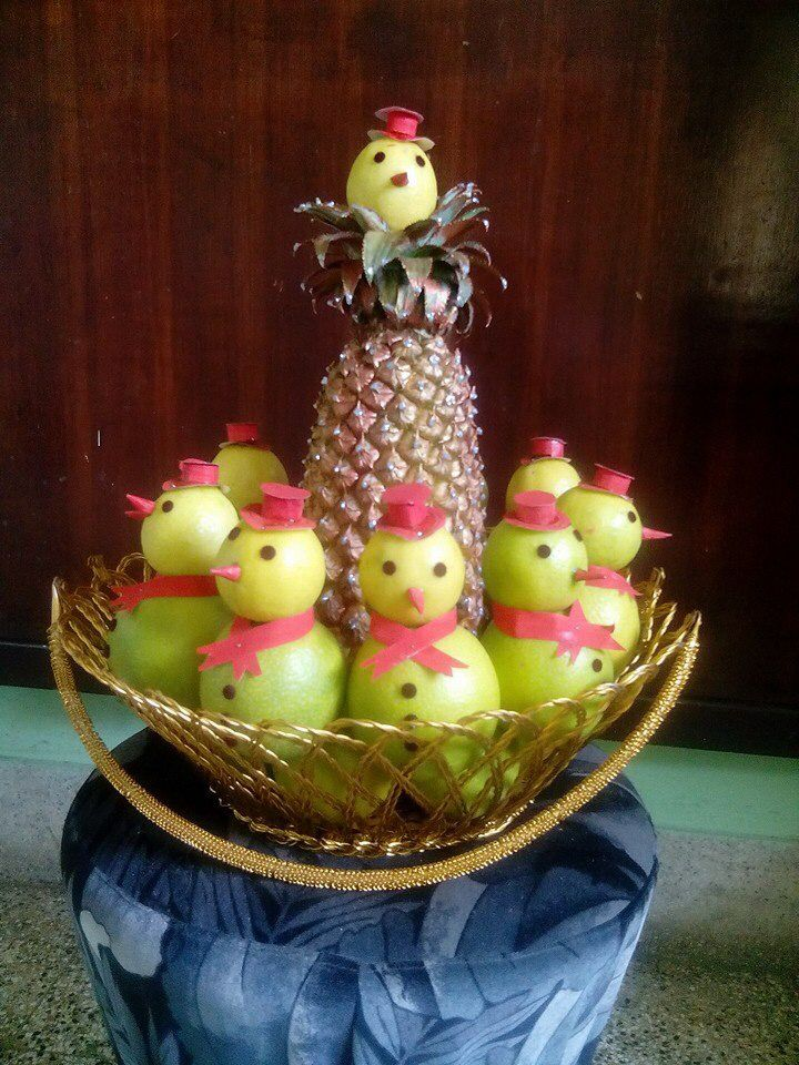 Fruits Basket Decorations Wedding Packing Decor Basket